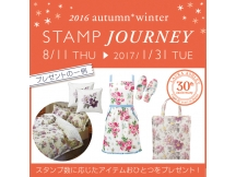 2016 autumn winter STAMP JOURNEY